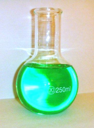 Boiling Flask Flat Bottom Borosilicate Glass 250ML