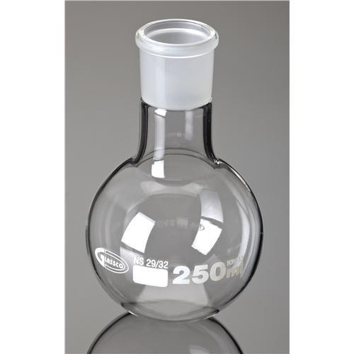 Boiling Flask Flat Bottom Ground Glass Joints Borosilicate Glass 100mL