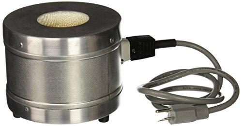 GLAS-COL 100BTM97 TM Series Aluminum Housed Mantle for Spherical Flask 230V 100 mL Flask Capacity 60 mm Maximum Flask Diameter 119 ID 625 OD 413 Outside Height