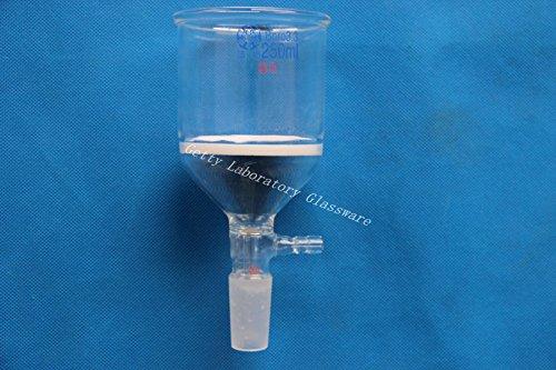 250ml Glass Buchner funnelSuction filtration funnel 244010mm hose connection