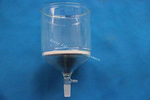 3000ml 2440 joint Glass Buchner funnelSuction filtration funnel10mm hose