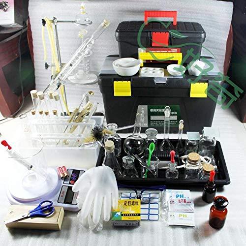 Laboratory Equipment Tool Set Chemistry Experiment Tools Setglass Ware Tubesflaskreagent Kids Home Lab