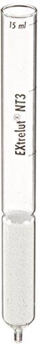 EMD Millipore Extrelut 1150950001 NT 3 Glass Column for 1-3mL Sample Solution Pack of 50