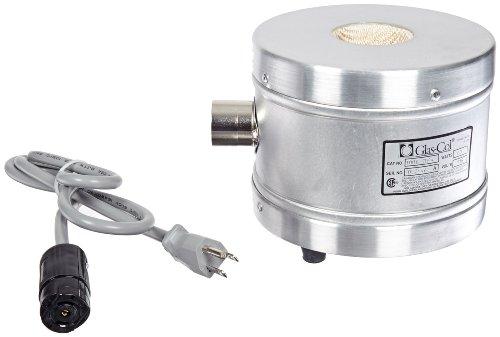 Glas-Col 100B TM94 Series TM Aluminum Housed Mantle for Spherical Flask 50ml Flask Capacity 115V