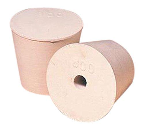 The Plasticoid Company U800M180 Rubber Stopper for 800 mL Kjeldahl Flask Pack of 60