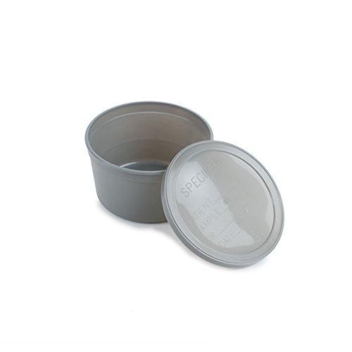 LabStool Specimen Container 8oz Gray