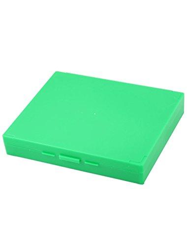 Tek Widget 100 Slot Plastic Microscope Glass Slide Holder - Green