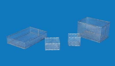 328 x 23 x 18 cm 12 2932 x 9 x 7 - VWR Stainless Steel Test Tube Baskets