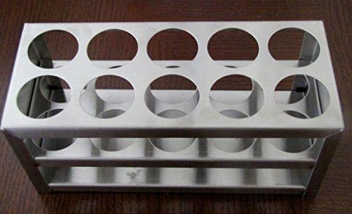 Stainless Steel Test Tube Rack 10 Holes 30 Mm 1 18 50 Ml