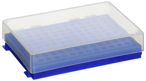Heathrow HS23461C 96-Well PCR Rack Blue Pack of 5