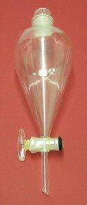 SEOH Separatory Funnel Borosilicate Glass Stopcock 500 ml
