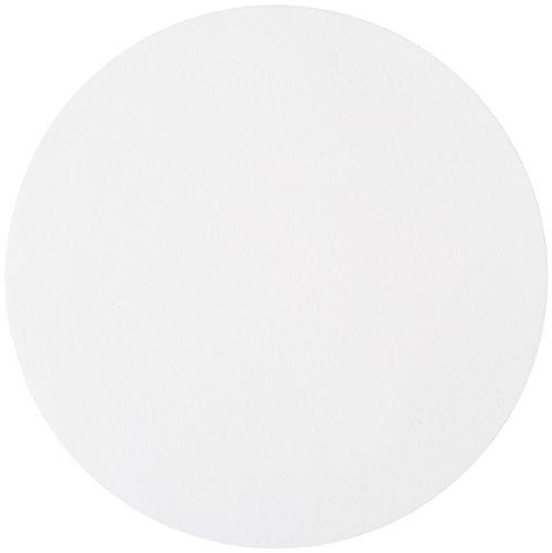 GE Whatman Reeve Angel 5201-110 Qualitative Filter Paper Circle Smooth Surface Medium-Slow Speed Grade 201 11cm Diameter Pack of 100