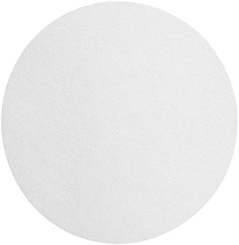 Whatman 1001-325 Quantitative Filter Paper Circles 11 Micron 105 s100mLsq inch Flow Rate Grade 1 25mm Diameter Pack of 100