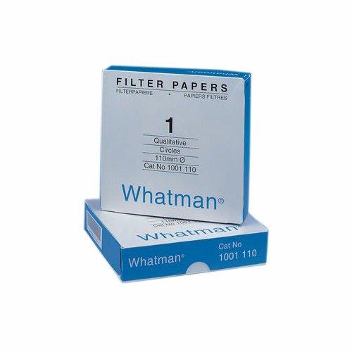 Whatman 4712B20PK 1001070 Quantitative Filter Paper Circles 11 μm 105 s100 mlsq in Flow Rate Grade 1 70 mm Diameter Pack of 100