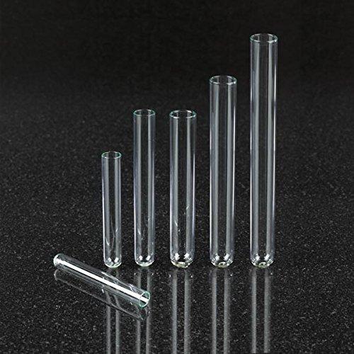 Stellar Scientific - Borosilicate Glass Culture Tubes 16 x 125mm 12mL 4PKs of 250 1000CS