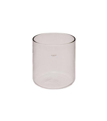 Corning Pyrex Borosilicate Glass Reusable Cylindrical Jar 75 L Capacity Case of 4