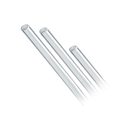 Corning Pyrex Borosilicate Glass Rod 4mm Outside Diameter 1219mm Length Case of 25