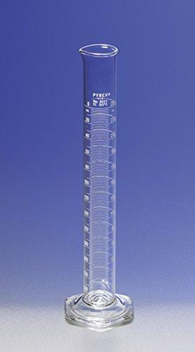 Pyrex Borosilicate Double Graduated Cylinder 100 x 10 mL