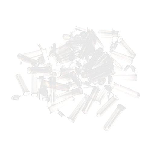 7ml Plastic Round Bottom Micro Centrifuge Tubes w Flip Caps 200 Pcs
