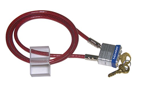 Container Restrainer with Cable Lock Kit