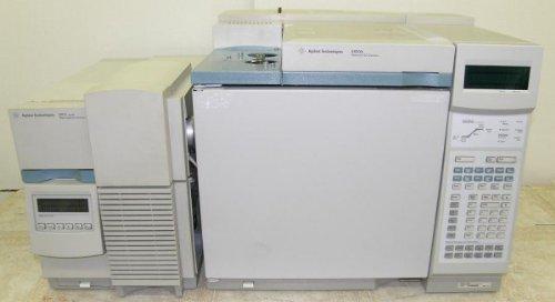 Agilent 5973N MSD 6890 GC Diff Pump Mass Spectrometer