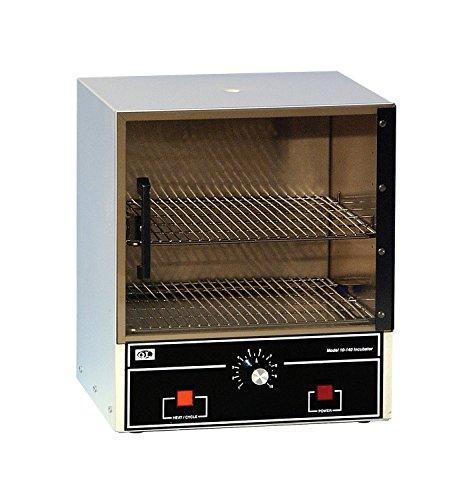 Quincy Lab 10-140 Acrylic See-Through Door Incubator Ambient  2 to 62 Degrees C Temperature Range 07 Cu Ft Capacity 115V
