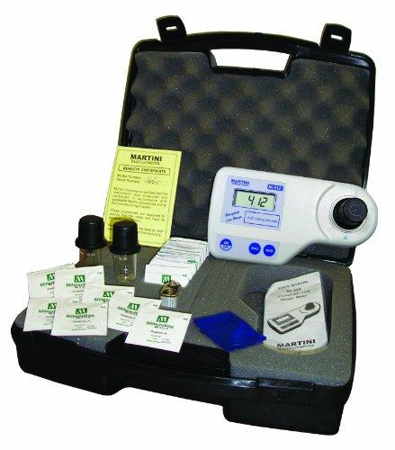 Milwaukee Mi405 Ammonia Medium Range Photometer 192mm Length x 104mm Width x 52mm Height 000 - 999 mgL 001 mgL Resolution LCD Display