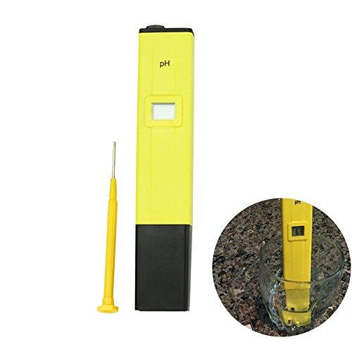 Lineba High Accuracy Portable PH Digital Meter Mini Digital Pen Type PH Meter(Pocket Size)