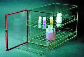 Acrylic Desiccator Cabinet Locking with Hygrometer