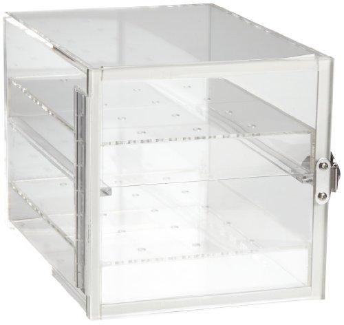 Bel-Art F42064-0000 Clear Acrylic Desiccator Cabinet 021 cu ft