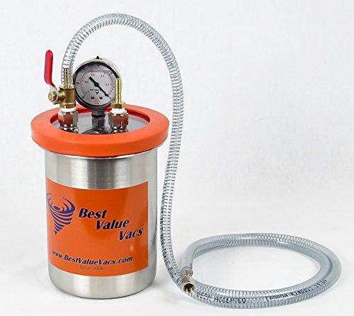2 Quart Resin Trap Vacuum Degassing Chamber