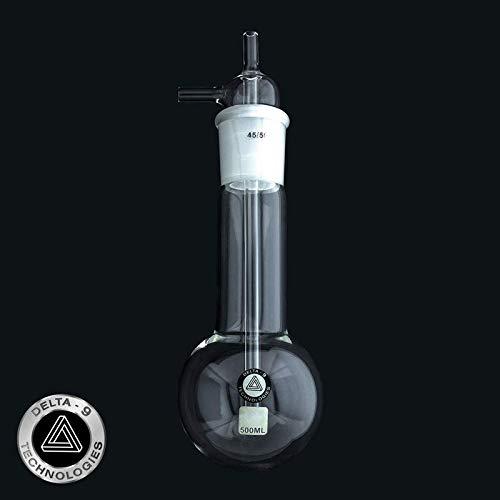 Delta-9 Technologies Vacuum Cold Trap 300 Mm Length W 500 Ml Reservoir