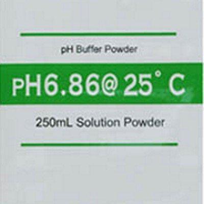 pH Meter Buffer Calibration Solution Powder 686 pH Makes 250 mL - Pack of 5