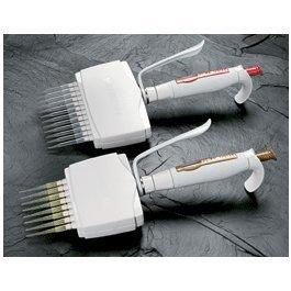 Hamilton 55019-50 SoftGrip 8 Channel Adjustable Volume Pipette 12 Length 5 µL to 50 µL Volume Range Sandstone
