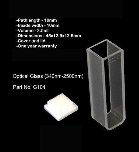 10mm Standard Glass Cuvette - 35ml