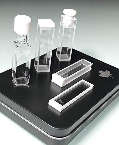 Alpha Nanotech UV Quartz Cuvettes 35 ml Volume 10 mm Light Path Two Polished Sides