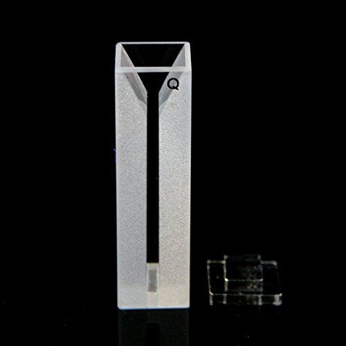 Micro Quartz Cuvette White Wall 04ml10mm Cell Cuvettes Spectrometer 1cm