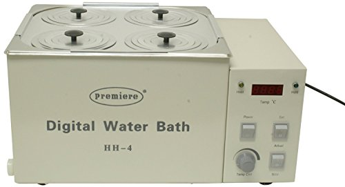 Premiere HH-4 Digital Water Bath 4 Wells Capacity