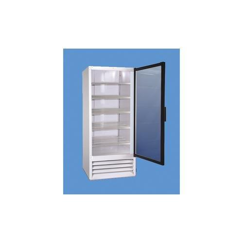So-Low EC4-49GD Economy Laboratory Pharmacy Refrigerator 2 Glass Doors 115V