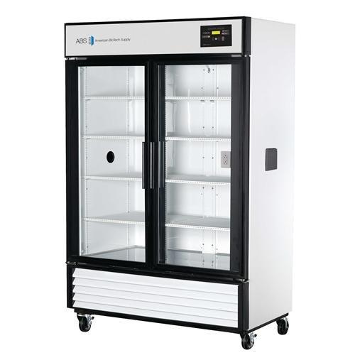 American BioTech Supply ABT-HC-23C Premier Glass Door Chromatography Refrigerator 23 cu ft Capacity White