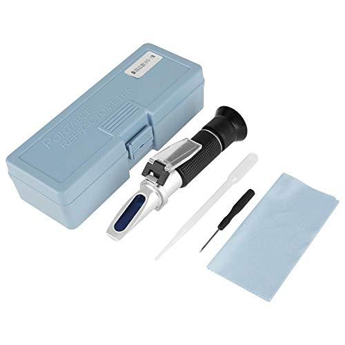1PC Professional 0-28 Accurate Salinometer Dual Scale Refractometer Food Salinity Tester Meter