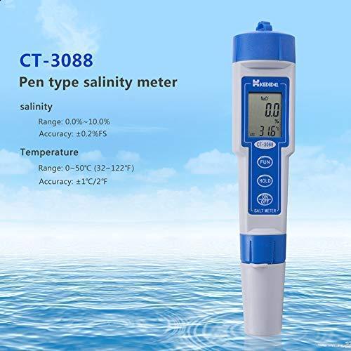 High Accuracy Pen-Type Salt Meter Digital Display Salinometer Waterproof Water Tester Salinity