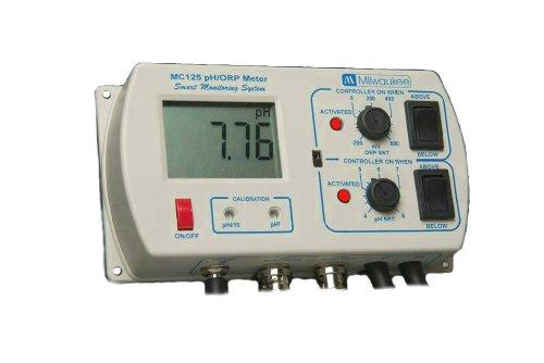 Milwaukee MC125 pHORP Controller with Mounting Kit 000 to 1400 pH -02 pH Accuracy
