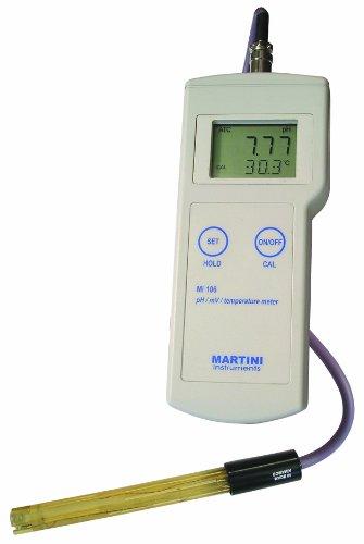 Milwaukee Mi106 Portable pHORPTemperature Meter -200 - 1600 pH - 002 pH Accuracy 001 pH Resolution