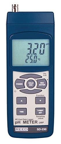 REED Instruments SD-230 SD Series pHORP Datalogger 000 to 1400 pH  0-1999 mV