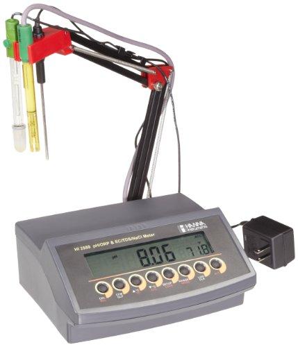Hanna Instruments HI 2550 pHORPECTDSNaCl Benchtop Meter