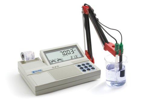 Hanna Instruments HI122-01 pHORPTemperature Benchtop Meter with Built-in Dot Matrix Printer