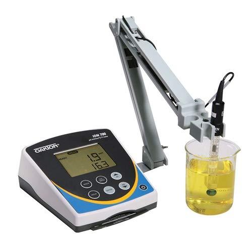 Oakton WD-35419-20 Oakton Ion 700 Benchtop Meter with DJ Refillable Glass pH Electrode ATC Probe Stand