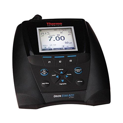 Orion STARA2116 A211 Series pH Benchtop Meter Kit with ROSS Epoxy-Body Triode pHATC Probe -2 to 20 pH Range