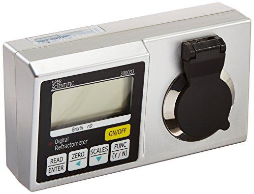 Sper Scientific 300033 Lab Digital Refractometer Brix 45~95